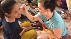 Lucy makeup